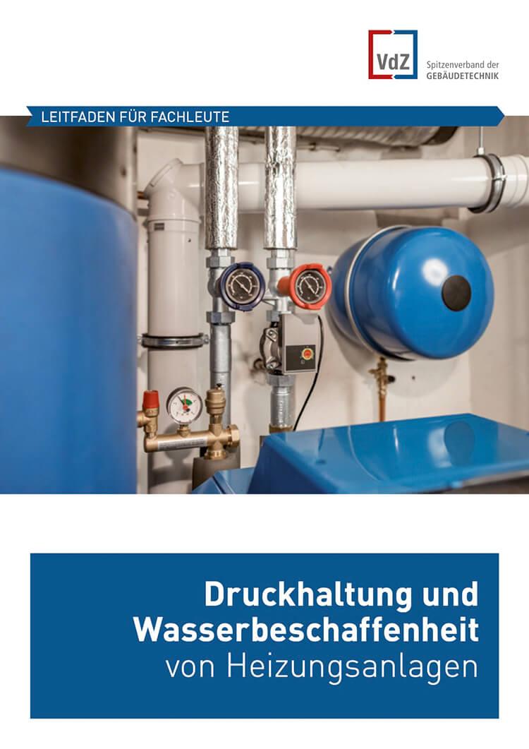 Druckhaltung Wasserbeschaffenheit